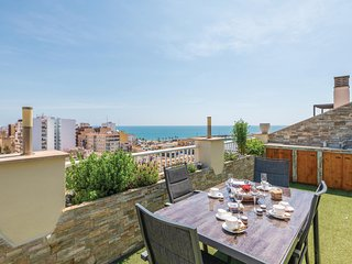 Amazing apartment in Vinaroz w/ Jacuzzi, WiFi and 3 Bedrooms