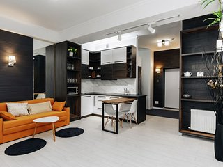 Spacious and modern apartment