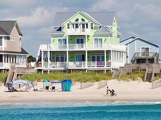 638 Hampton Colony Like New, 7BR, Pool, Hot Tub, Oceanfront, Elevator     Rent a