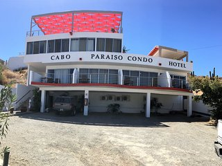 Cabo Paraiso Condo & Studio Hotel with 23 units that sleeps 1,2,4, or 6 persons