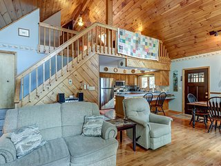 NEW LISTING! Dog-friendly, lakefront house with 2 living areas, beach nearby