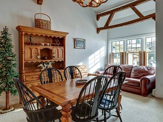 NEW LISTING! Family-friendly ski-in/out condo w/ shared tennis, gym golf on site