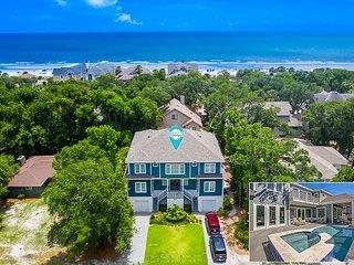 52 N. Forest Beach-NEW Beach Home, 5th row ocean w/elevator so much more!