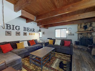 NEW LISTING! Cozy, remodeled cabin w/ wood burning fireplace, two decks, & grill