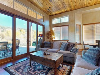 Beautiful waterfront condo w/ river & mountain views