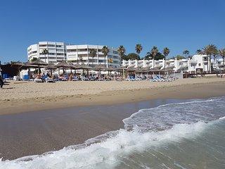 Spanien, 1 Meerlinie, Meerblick, Calahonda nahe Marbella, Malaga