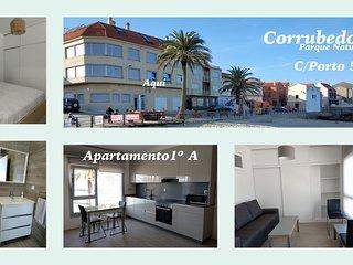 Apartamento Puerto Corrubedo. Vistas espectaculares.