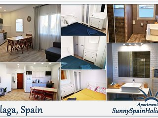 SunnySpainHolidays Apartments is 3 bedroom flat close to the beach