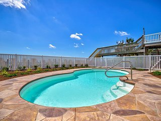N. Shore Dr. 502 Oceanfront! | Private Heated Pool, Hot Tub, Elevator, Internet,