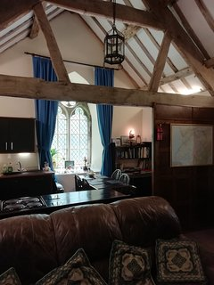 The spacious old vestry..