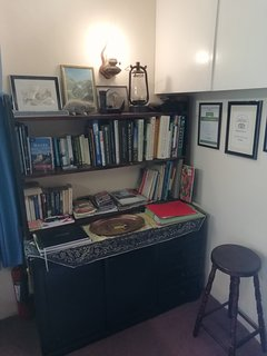 Selection of books and information about the area...
