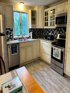 Completely renovated including new countertops, sink, faucet, flooring and more