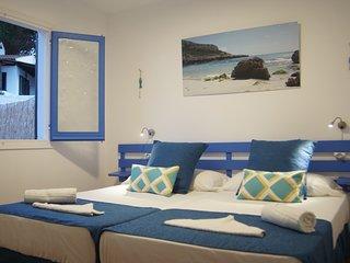 N5 Luminoso apartamento en la playa de una habitacion