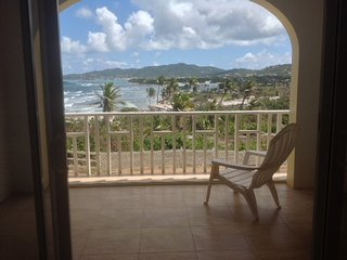 STUNNING OCEAN VIEW! ELEGANT TROPICAL DECOR, SPACIOUS, NEAR TOWN  &  BEACHES