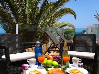 Fuerteventura Sol 502 con vistas al mar, al lado de la playa, ideal familias