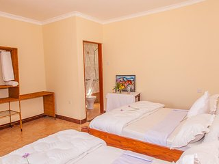 Furaha Lodge  Twin bed Room with Balcony 1