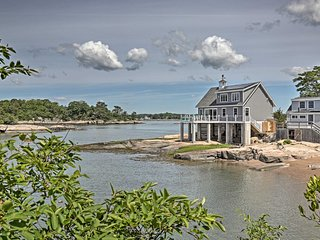 NEW! Money Island Home w/Deck, Kayak, Paddleboards