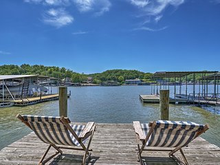 NEW-Home w/ Game Room & Dock on Lake of the Ozarks