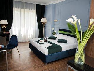 Blue Suite -Matrimoniale Deluxe - Unicum Roma Suites