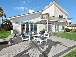 Spacious waterfront home w/ patio, sundeck, & private beach access!