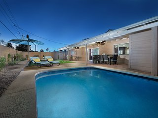 Gorgeous home w/ great backyard, private pool, putting green, & Ping-Pong