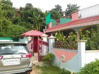 Coorg mango villa home with fully equipped kitchen
