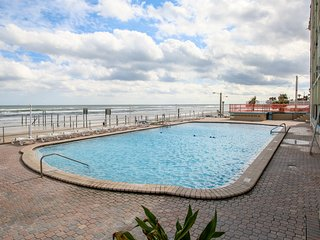 Dog-friendly, waterfront condo w/ furnished balcony, shared pool, & beach access