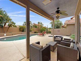 Beautiful Scottsdale home w/ a private pool, firepit & patio