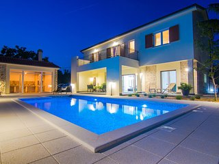 Villa Cedar with large swimming pool and summer kitchen