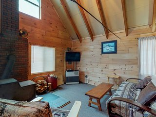 Dog-friendly cabin w/ firepit & full kitchen - kayaks available in summer
