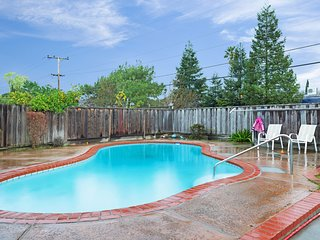 Charming Blossom Valley home w/ private pool & yard - near dining/shopping!