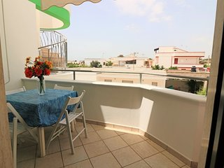 Achille holiday home with sea view in Torre San Giovanni in Salento