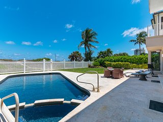 Oceanfront Villa with Private Beach Access