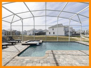 Championsgate 470 - Modern villa with private pool and game room near Disney