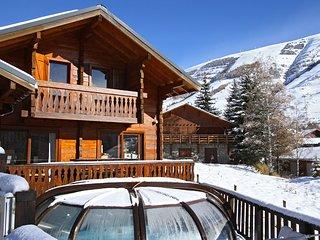 Chalet ideal pour Vacances de Ski en Groupe | Sauna Prive + Piscine Exterieure