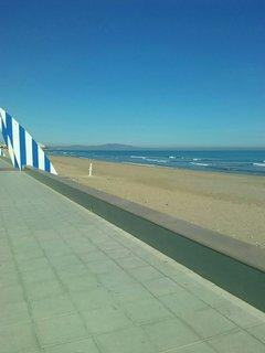 Playa Morro de Gos hacia Marina d'or