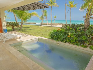 LUXYRY BEACHFRONT, 1st LINE, PRIVATE POOL, CAP CANA, PUNTA CANA SOTOGRANDE.