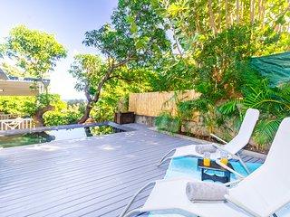 Albius - jolie villa avec piscine proche du lagon de Saint-Leu