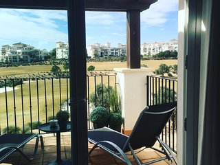 Apartment at Hacienda Riquelme Golfresort with stunning golfview