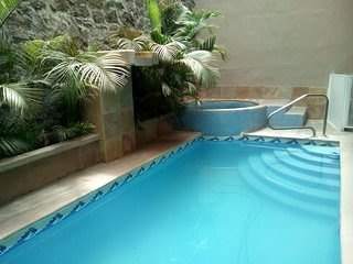 Rosarito vacation house with indoor pool, spa and gym