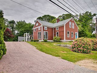Charming 1860s Westerly Home w/ Deck + Grill!
