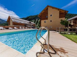 Appartement au calme et equipe dans le coeur du Queyras | Acces piscine