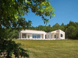 Modern Villa D, in Istria, with a Pool
