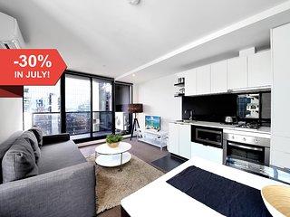 A Modern CBD Suite Near Crown & Southern Cross