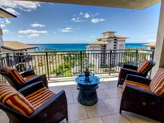 Sandy beachfront condo with gorgeous ocean view ~ Beach Villas Ko Olina O1005