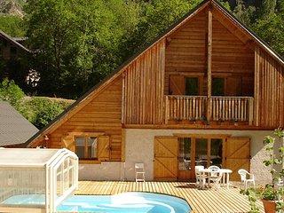 Chalet au calme avec piscine couverte + sauna | a 250m de la telecabine