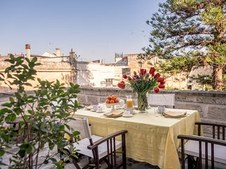 Campanile Apartment is in an historic building of Lecce.