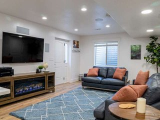 Lehi Apartment 257 E 1130 S Private Outdoor Living Area, BBQ, Faux Fireplace/Hea