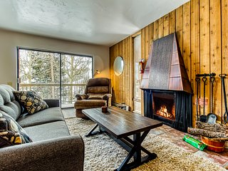 Cozy dog-friendly condo w/ shared sauna - close to slopes