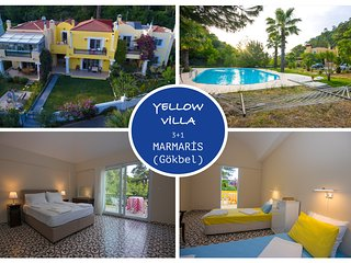 Yellow Villa Beldibi Marmaris Daily Weekly Rentals